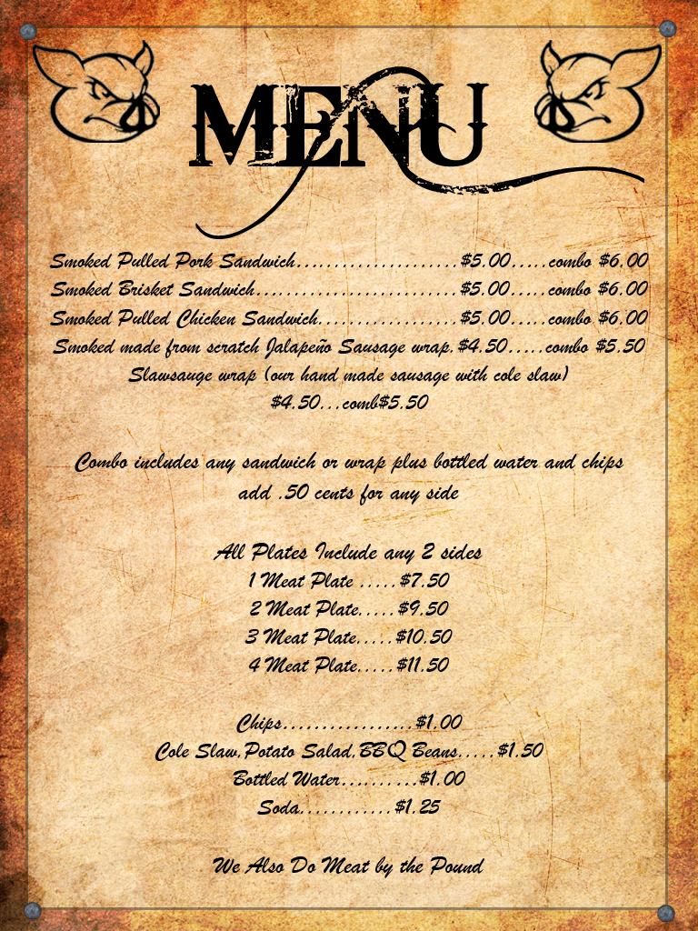 ... menus set http www musthavemenus com wordtemplate barbeque menu html