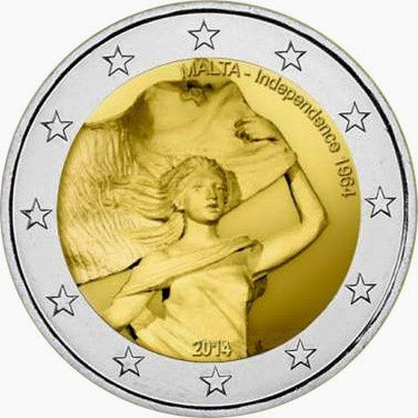 2 euro Malta 2014, 50 Years of Independence from Britain