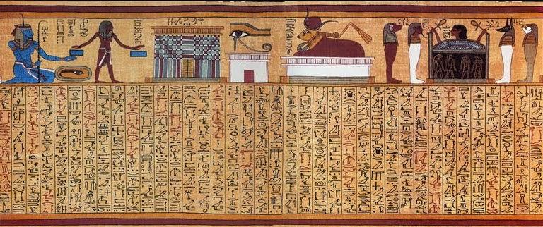 Parte del papiro de Ani