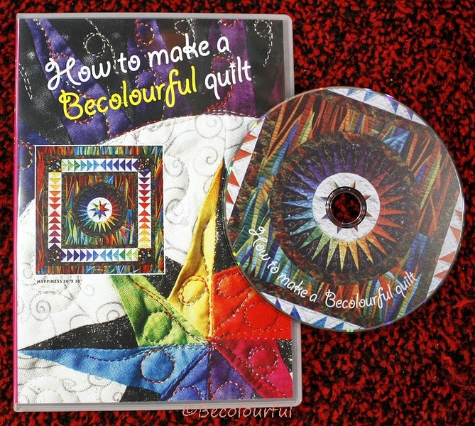 How to make a BeColourful Quilt