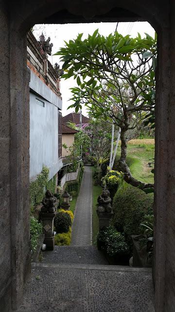 Acceso a residencia balinesa en Ubud