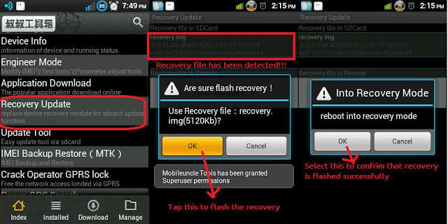 Cara Root Dan Instal CWM Advan S4A/S4M (Kitkat) Tanpa PC