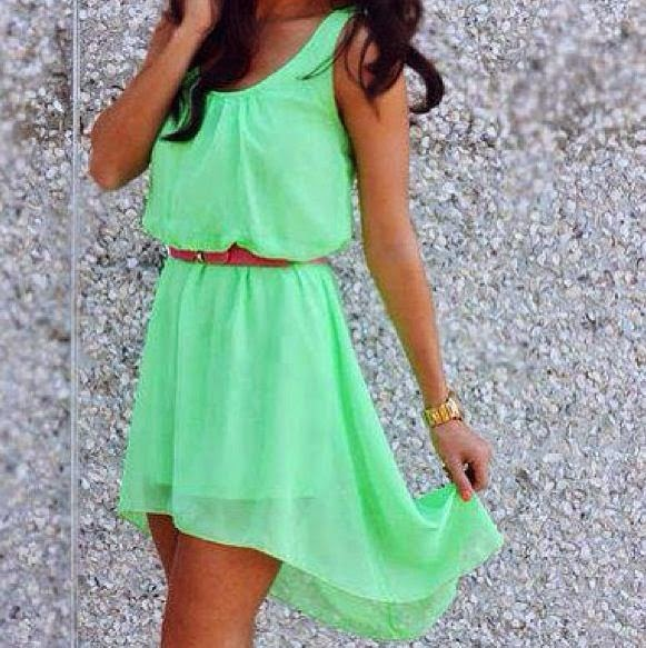 Perfect Light Green Dress