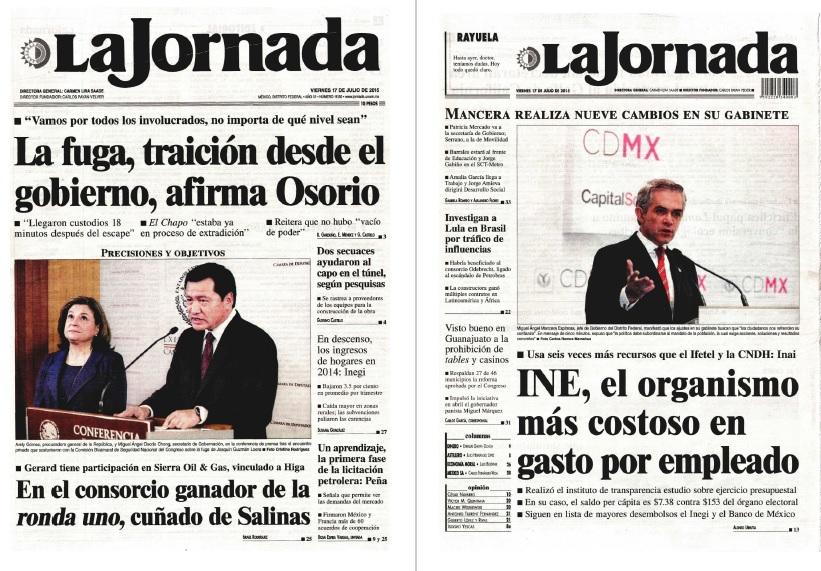 Noticias Guerrer S Sme Peri Dicos La Jornada La Fuga