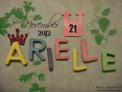 Arielle November 21 2012