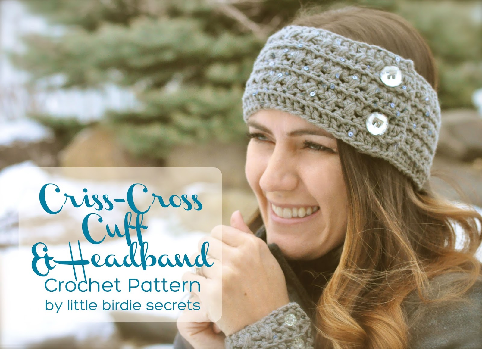 Crocheting A Headband : free crochet headband and cuff {pattern} Little Birdie Secrets
