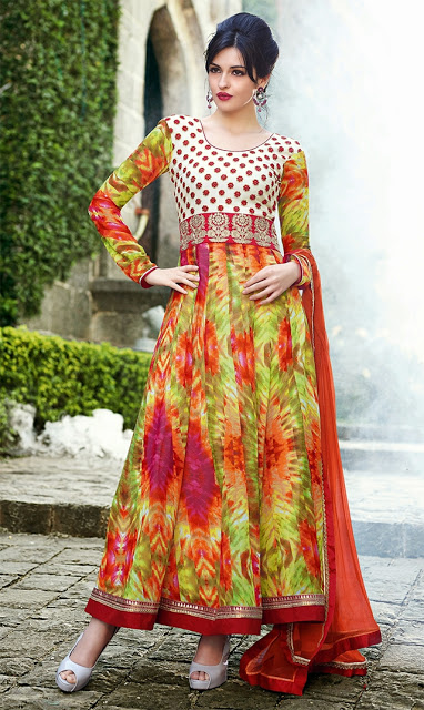 Embroidered Printed Georgette Suits By Online