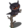 FarmVille Black Owl (Bonus Prize) - FvLegends.Com