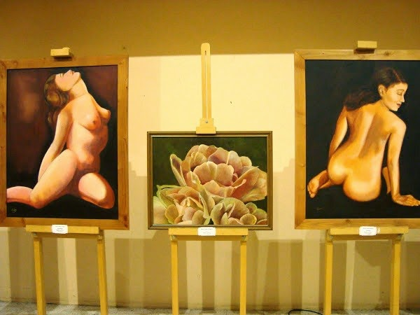 Exposición en la Biblioteca Regional (Puerto Montt)