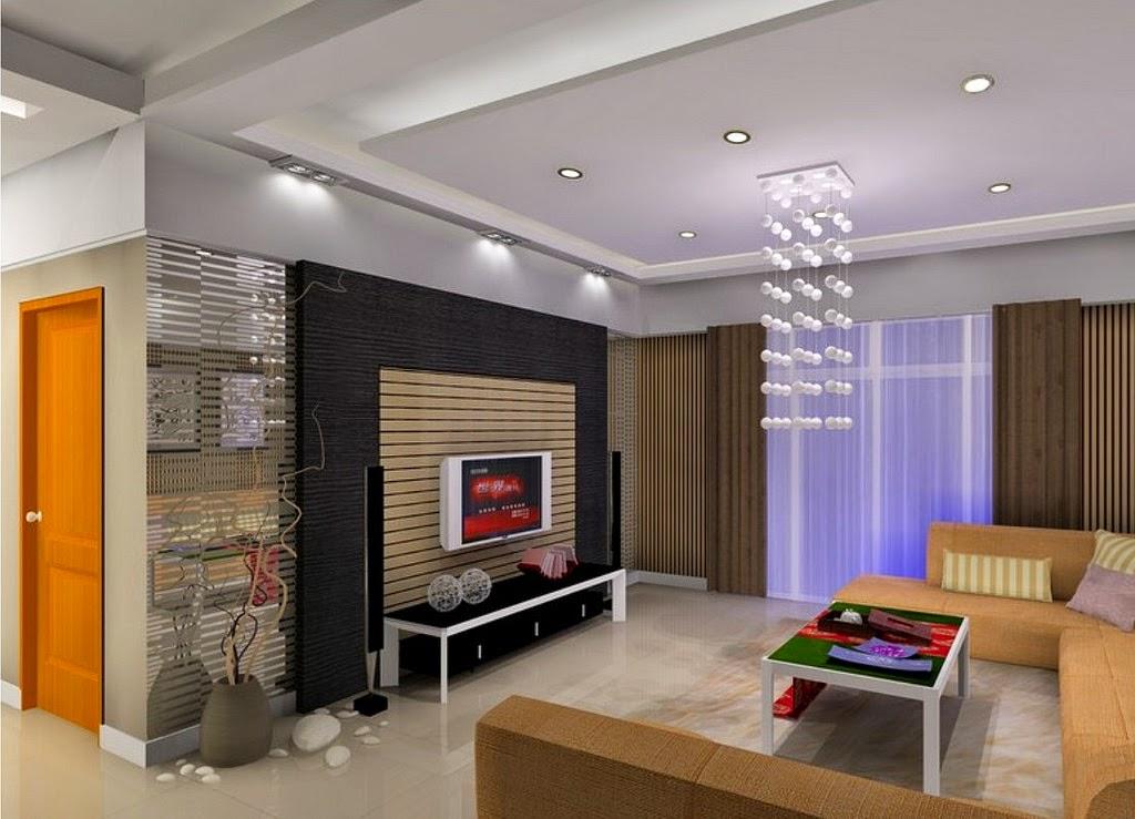 desain interior menggunakan batu alam