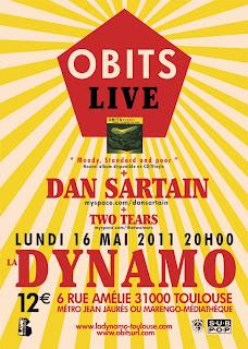 Obits / Dan Sartain / Two Tears à Toulouse ce lundi! Flyer_obits_live_OUT