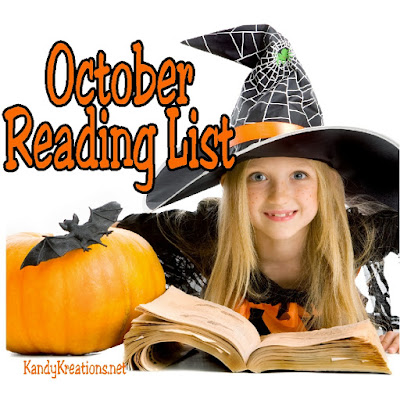 "Find some fun reads for you and your kids with this October reading list.  Here's what my 11 year old son and I read during our ""down"" time together."