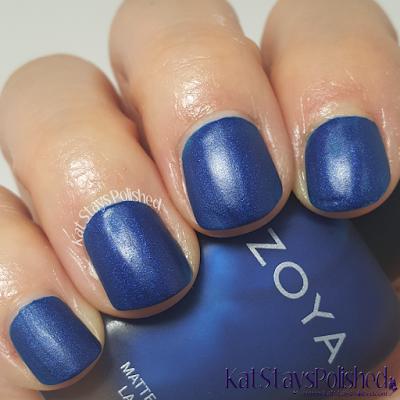 Zoya Matte Velvet 2015 - Yves | Kat Stays Polished