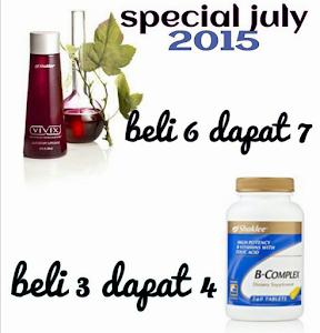 Promo July 15 ::: Vivix, B-Complax dan Vitalea for Children