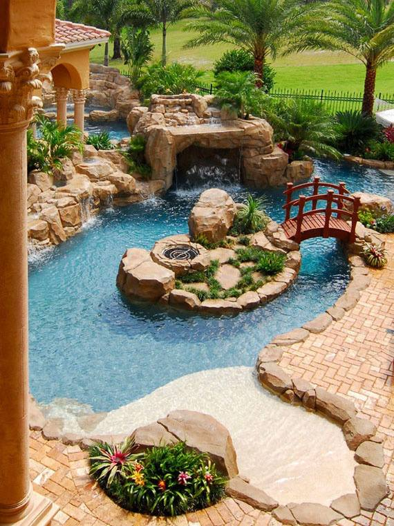 Beautiful Backyard Ponds And Water Garden