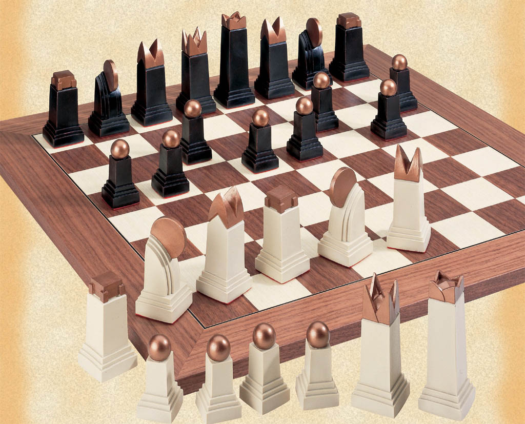Chess Talk The Art Deco Chess Set