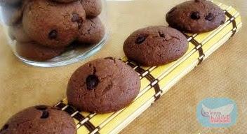 damla çikolatalı kepekli kurabiye