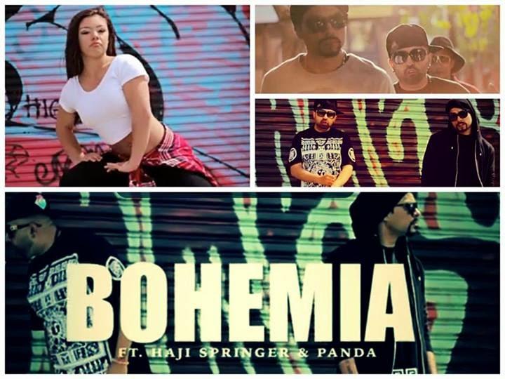 Making of Brand New Swag in Studio Video - Bohemia + Haji Springer + Panda
