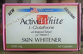 Active White L-Glutathione Skin Whitener