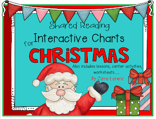 http://www.teacherspayteachers.com/Product/Shared-Reading-Interactive-Charts-for-Christmas-1003433