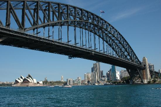 Australia's Sydney Harbour Bridge.