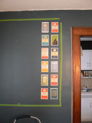 mylittlehousedesign.com postcard wall art tutorial