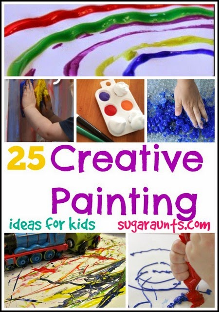 25 creative ways to paint ideas for kids the ot toolbox