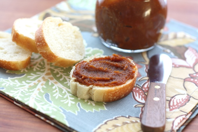 Maple Pumpkin Butter recipe by Barefeet In The Kitchen