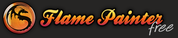 Flame Painter Free -logo