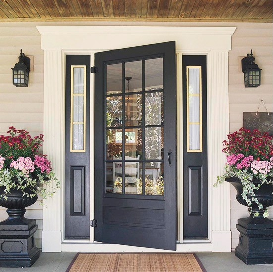 Awesome Even If Your Door Is Lacking Luster, Get Out The Paint And Get That Front  Door Shining!