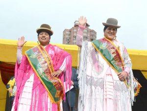 Yuma Tatacu es la Cholita Paceña 2015 - Cholitas de Bolivia