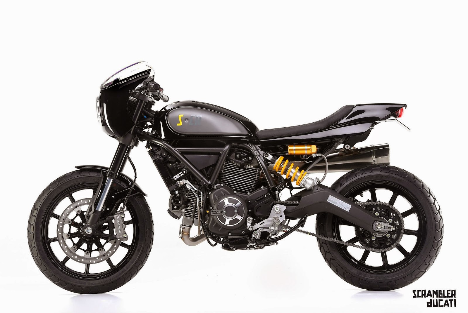 racing caf ducati scrambler s cr scrambler caf racer by mrmartini. Black Bedroom Furniture Sets. Home Design Ideas