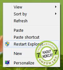 Cara Menambahkan Opsi Fitur Restart Di Windows Explorer