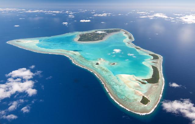 La Isla de Aitutaki en Nueva Zelanda