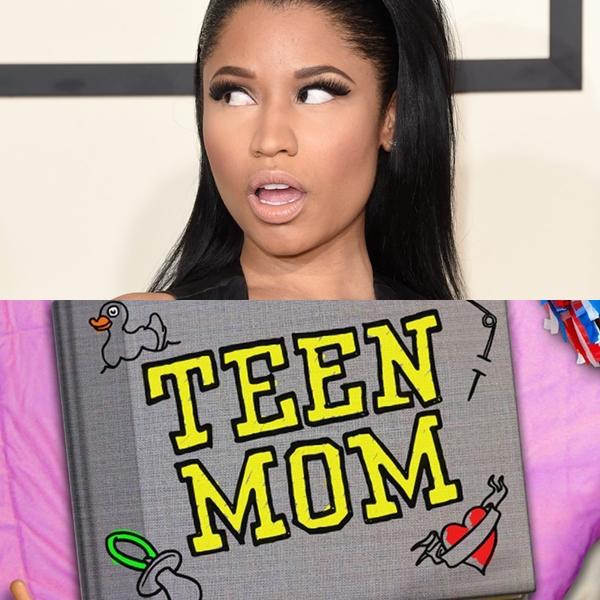 Nicki Minaj insultó a una participante de Teen Mom
