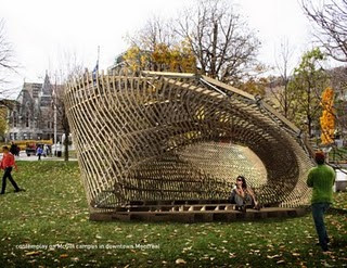 contemPLAY Pavilion - by McGill University School of Architecture Students