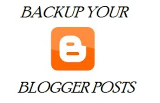 blogger back up all posts and comments