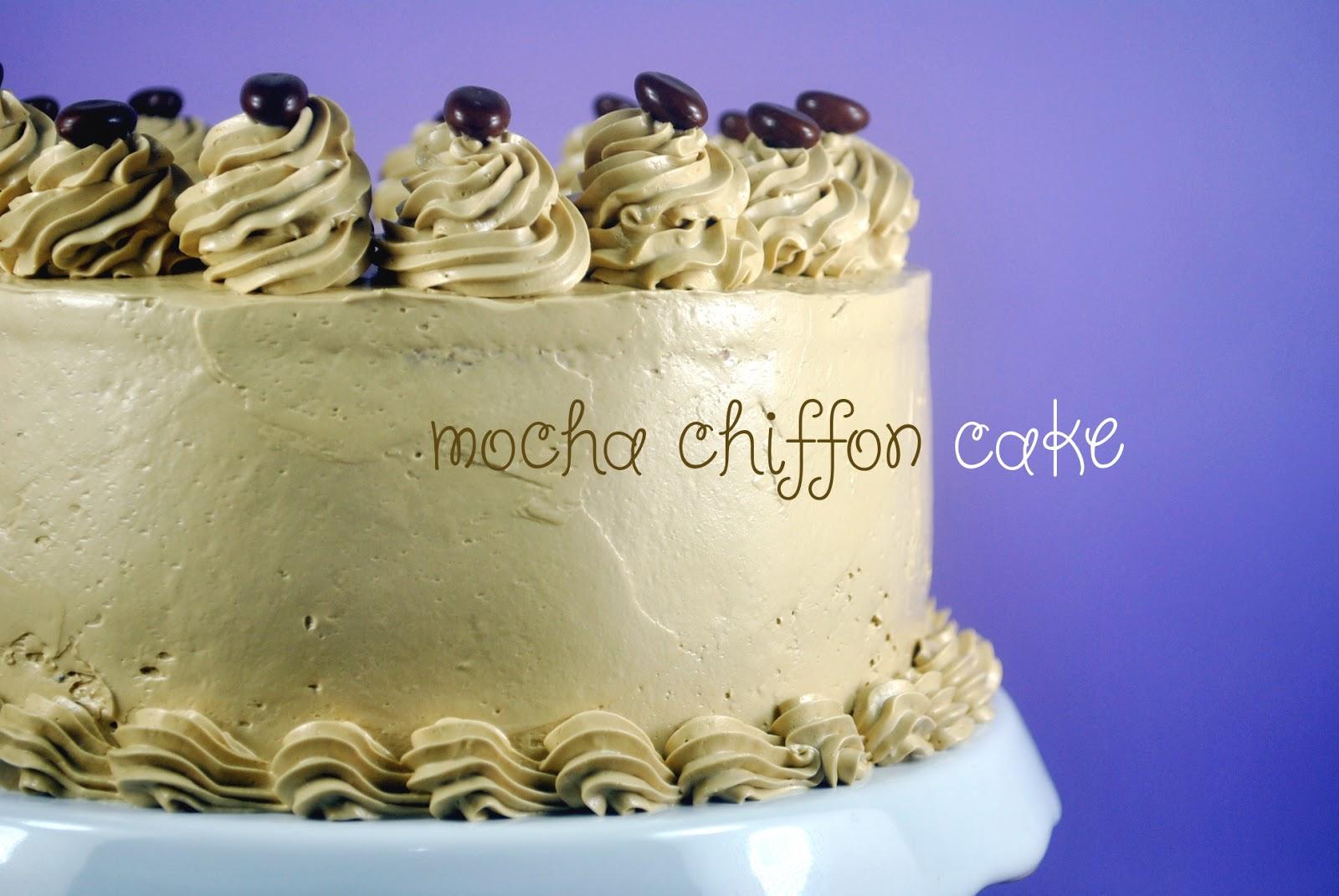 Bakery Cook And Tips Mocha Chiffon Cake Recipe