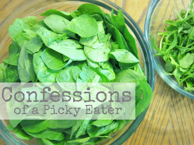 picky eater, spinach, tips for overcoming pickyness