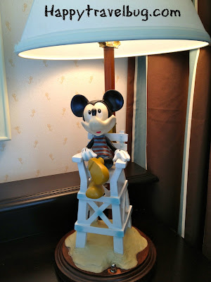 Beach Club Mickey Mouse Lamp