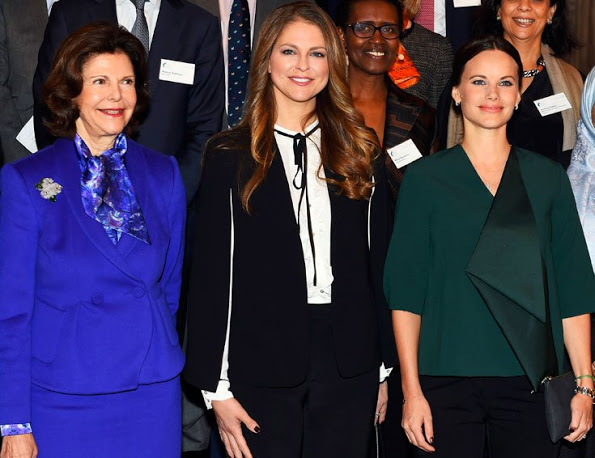 The Global Child Forum 2015 At The Royal Palace In Stockholm