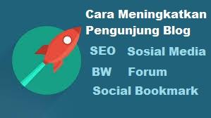 cara meningkatkan jumlah pengunjung blog dengan seo dan cepat