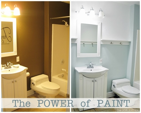 Bathroom Paint Makeovers