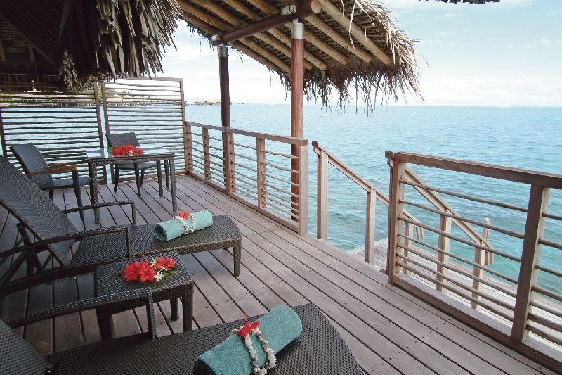 World Of Architecture Intercontinental Bora Bora Resort