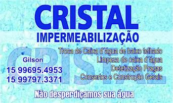 CRISTAL IMPERMEABILIZAÇÃO