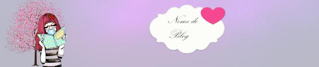 Base  Para Cabeçalho do blog - Menina Vanilla