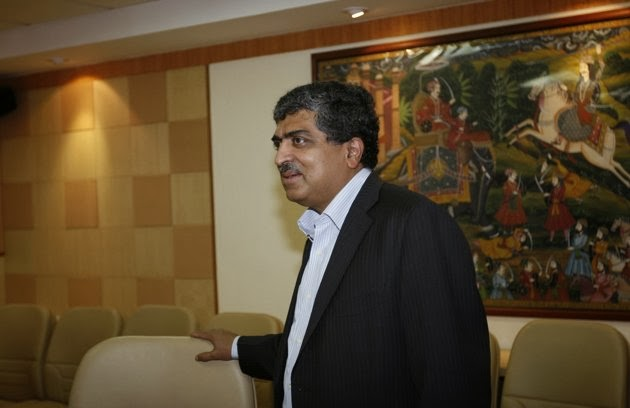 Nandan Nilekani in the Park