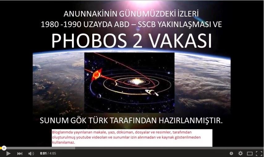 Günümüzde Anunnaki İzleri: Phobos 2 Vakası - 27 Mart 1989