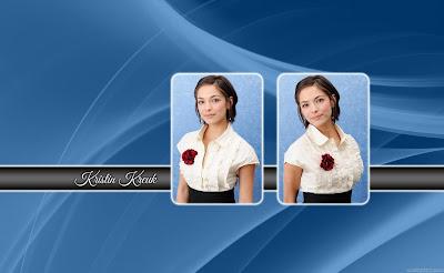 Hollywood Actress Kristin Kreuk HD Wallpaper