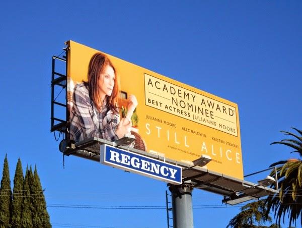 Still Alice Best Actress Oscar nominee billboard
